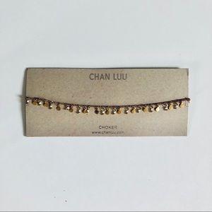 Chan Luu Gold Choker NWT